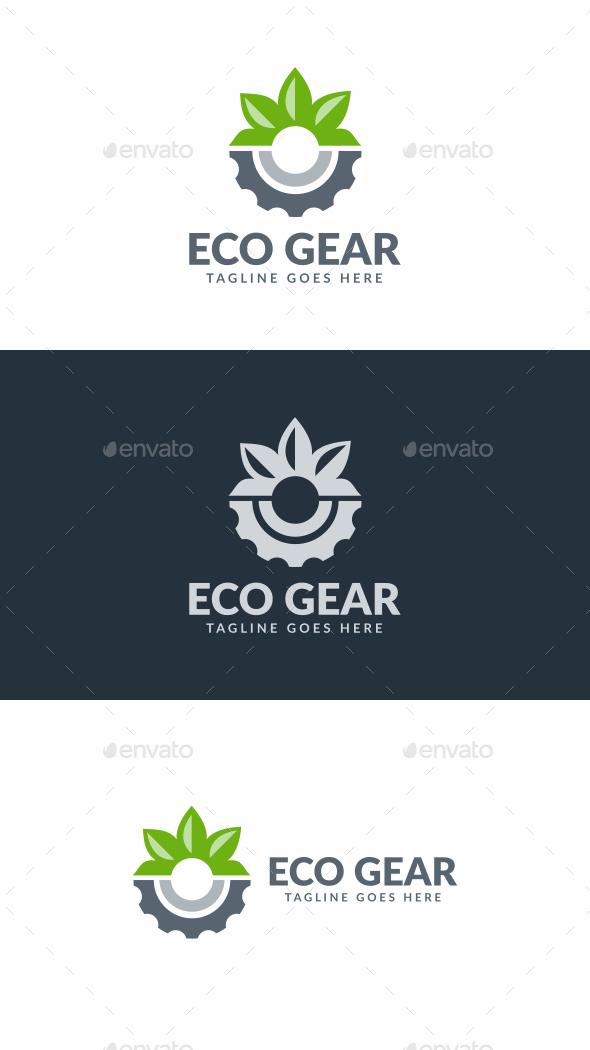 Eco Gear - Symbols Logo Templates