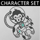 Monkey in Space Set