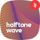 Halftone Network Wave Backgrounds - GraphicRiver Item for Sale