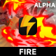 Cartoon Fire Elements - VideoHive Item for Sale