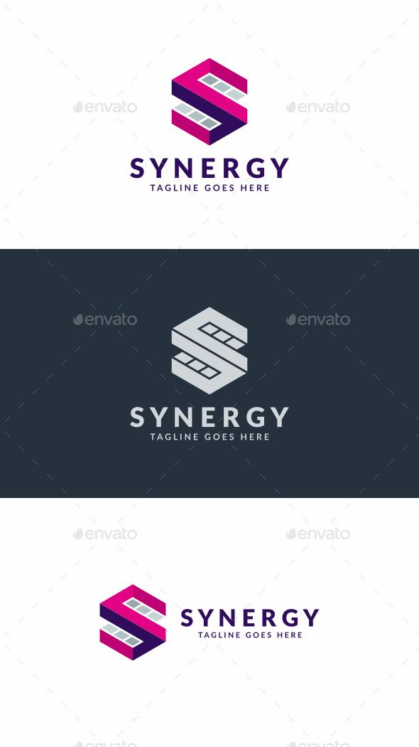 Synergy S Letter Logo - Letters Logo Templates