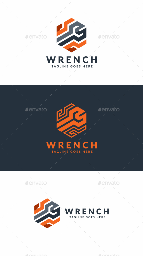 Wrench Motors - Objects Logo Templates