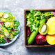 Vegetarian salad with vegetable and mango - PhotoDune Item for Sale