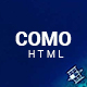 Como - One Page Responsive HTML with Working Sign Up Form - ThemeForest Item for Sale