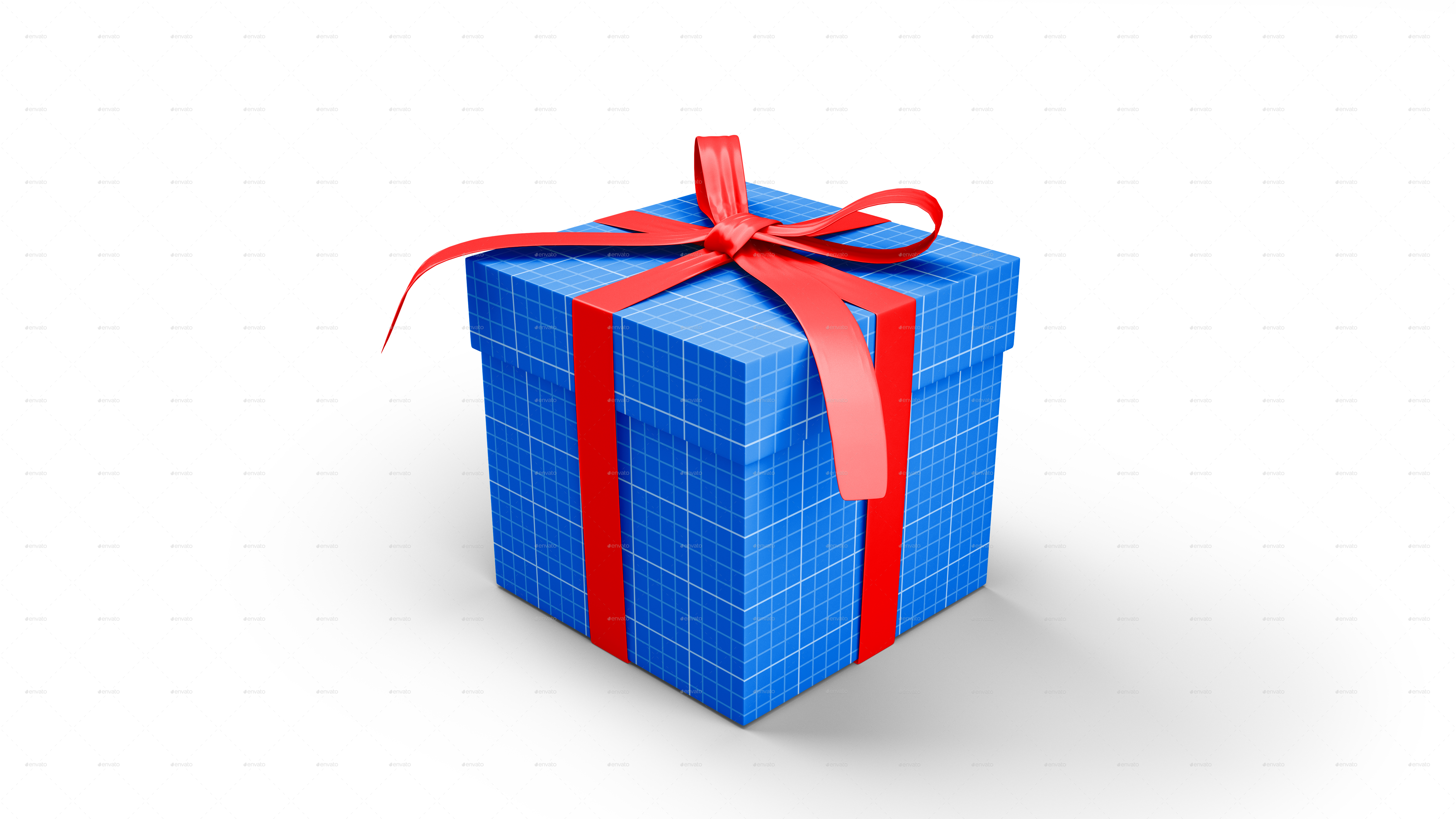 Gift Box Mockup By Graphicdesigno Graphicriver 03