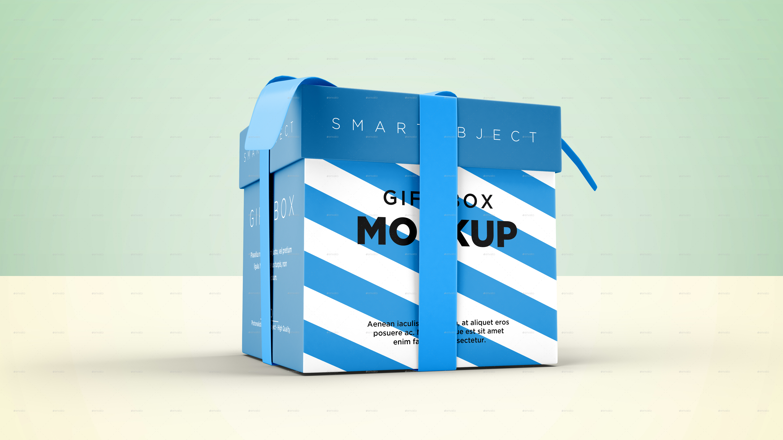Gift box mockup by graphicdesigno graphicriver gift box mockup 04 viewg negle Gallery
