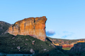 Brandwag (sentinel), a sandstone cliff during sunset at Golden Gate - PhotoDune Item for Sale