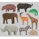 Wild African Animals Set, Hippopotamus - GraphicRiver Item for Sale