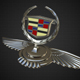 cadillac hood ornament - 3DOcean Item for Sale