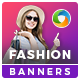 Fashio HTML5 Banners - 7 Sizes - CodeCanyon Item for Sale