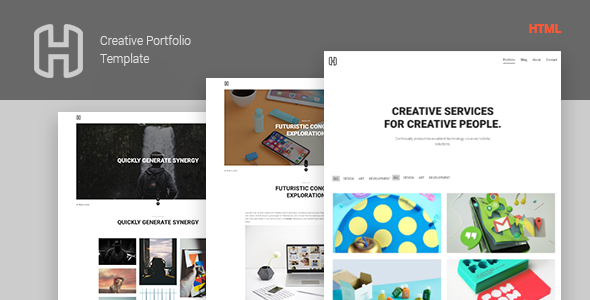 Image of Honor - Creative Portfolio Showcase Template