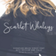 Scarlet Whaleys Script - GraphicRiver Item for Sale