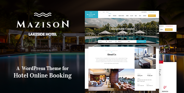 Mazison - Hotel & Resort Booking WordPress Theme