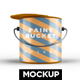 Paint Bucket Mockup - GraphicRiver Item for Sale