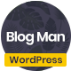 Blogman - Minimal WordPress Blog Theme - ThemeForest Item for Sale