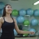 Young Woman Jumping Rope in the Gym - VideoHive Item for Sale