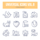 Universal Doodle Icons vol.8 - GraphicRiver Item for Sale