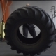 Fitness Man Doing Big Tire Flips Exercise in Gym - VideoHive Item for Sale