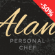 Alanzo | Personal Chef & Catering WP Theme