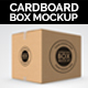 Cardboard Box / Carton Mock-up. - GraphicRiver Item for Sale