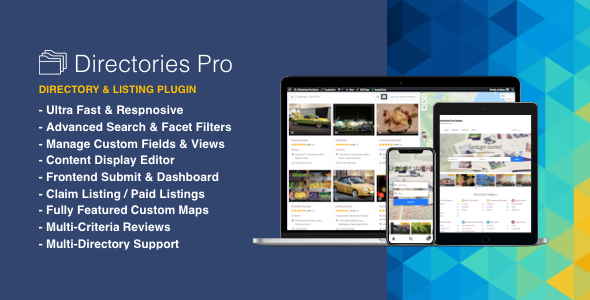 Directories Pro plugin for WordPress - CodeCanyon Item for Sale