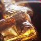 Ice Cubes in a Glass of Coke and Bubbles Rising - VideoHive Item for Sale
