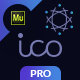 Free Download ICO Pro - Bitcoin Cryptocurrency Landing Page Muse Template Nulled