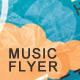 FunkyRock Flyer Postcard - GraphicRiver Item for Sale
