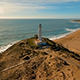 Aerial View of Lighthouse on the Coast during Sunset - Part 3 - VideoHive Item for Sale