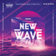 New Wave Modern Poster - GraphicRiver Item for Sale