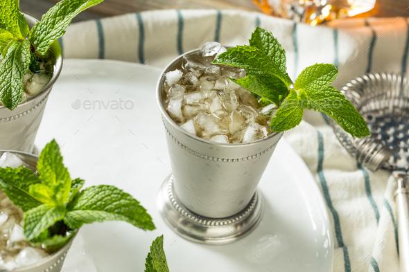 Homemade Kentucky Mint Julep - Stock Photo - Images