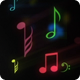 Musical Note Symbols Background - VideoHive Item for Sale