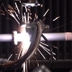 Plasma Processing of a Metalwork By the Modern Hi-tech Equipment - VideoHive Item for Sale