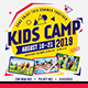 Kids Camp Flyer/Poster - GraphicRiver Item for Sale