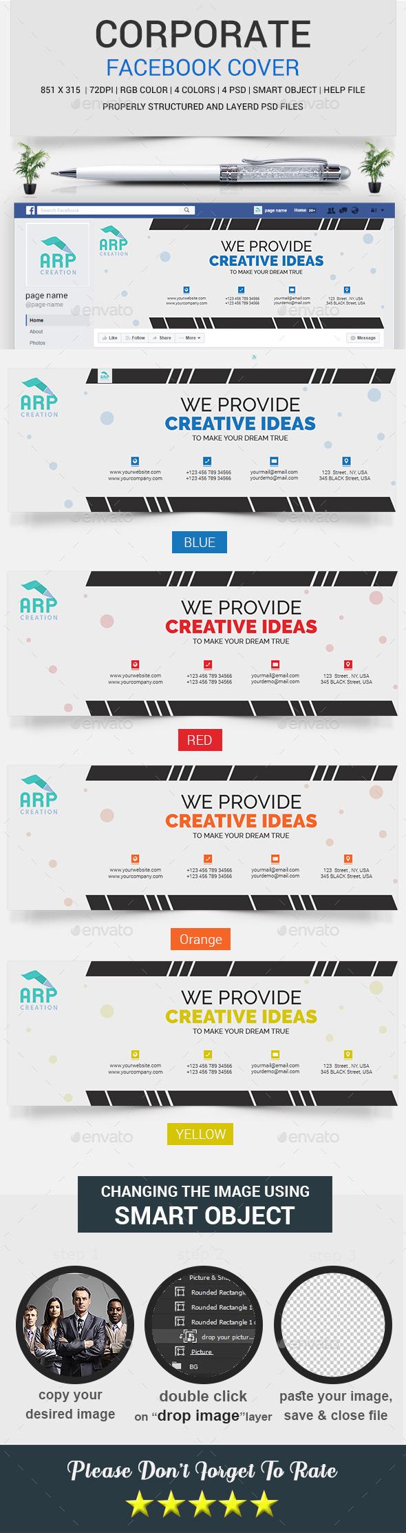 Corporate FB Timeline Cover - Facebook Timeline Covers Social Media