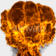 Fire Explosion with Alpha (4K) - VideoHive Item for Sale