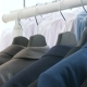 Shirts, Business Suits and T-shirts in a Store on a Hanger - VideoHive Item for Sale