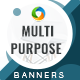 Multipurpose Banner Set - GraphicRiver Item for Sale