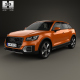Audi Q2 2017 - 3DOcean Item for Sale