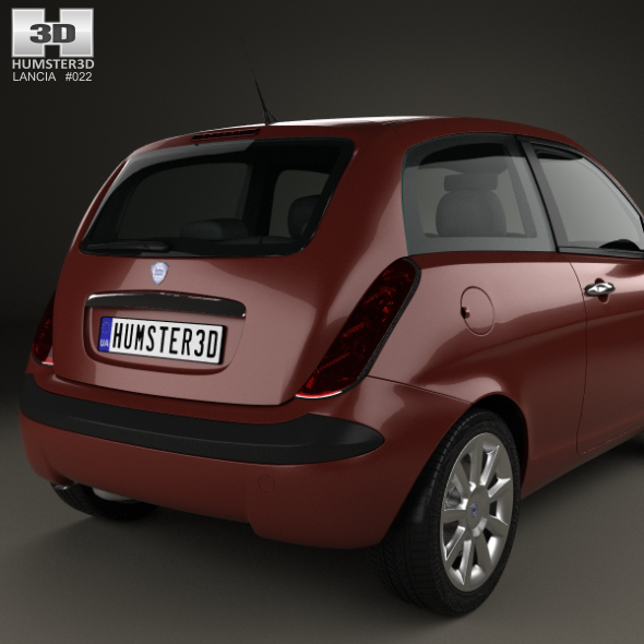 Lancia Ypsilon 2003 by humster3d | 3DOcean