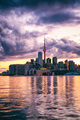 Cotton Candy Sunset of Toronto Skyline - PhotoDune Item for Sale
