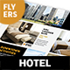 Hotel Flyers 8 – 4 Options - GraphicRiver Item for Sale