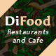 DiFood - Restaurant And Cafe HTML Template - ThemeForest Item for Sale