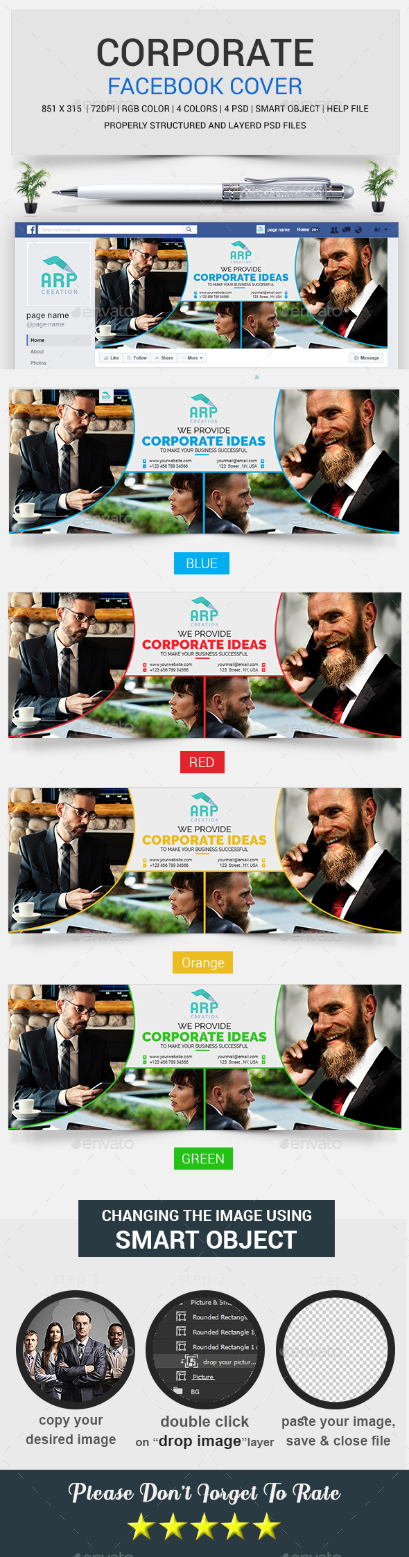 Corporate FB Timeline Cover - Facebook Timeline Covers Social Media