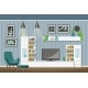 Interior Equipment of a Modern Living Room - GraphicRiver Item for Sale