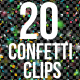 20 Confetti Pack - VideoHive Item for Sale