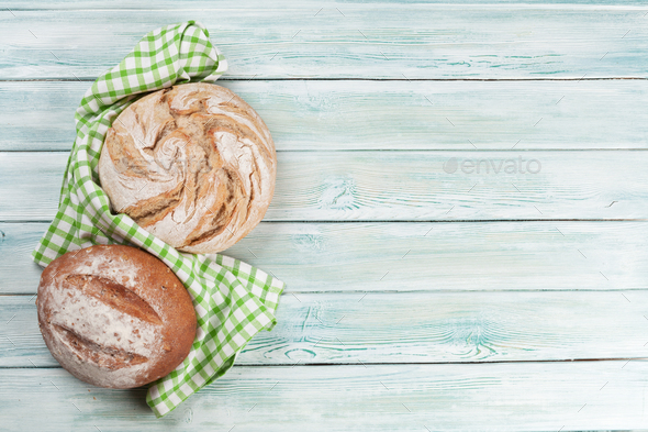 Various crusty bread - Stock Photo - Images