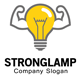 Strong Lamp Logo - GraphicRiver Item for Sale