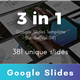 3 in 1 Multipurpose Google Slides Template Bundle (Vol.04) - GraphicRiver Item for Sale