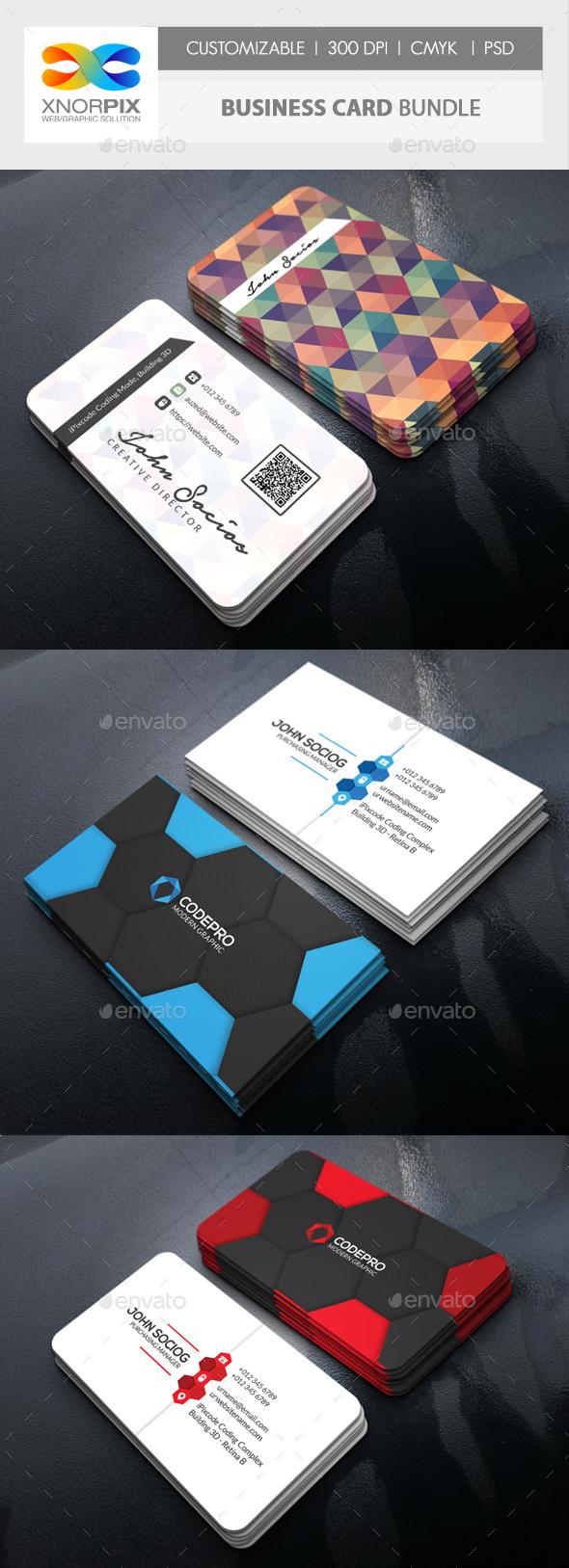 Business Card Bundle Corporate Cards